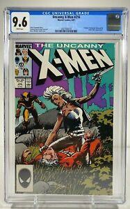 Uncanny X-Men #216 CGC 9.6 White Pages Marvel Comics 1987