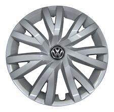 4x original VW Tapacubos rueda parabrisas 16 pulgadas VW SEAT SKODA #10-23