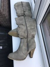 Lovely Ladies Knee Length Boots Size 5 BNWT