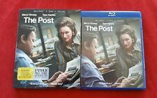 The Post (Blu-ray, 2018) Tom Hanks, Meryl Streep FREE US SHIPPING - Bluray only