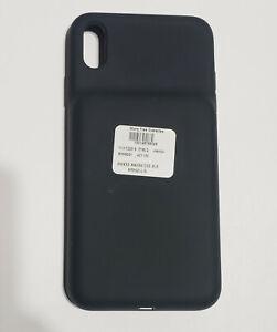 Unused Black Apple Smart Battery Case for iPhone XS Max in Bulk Pkg - MRXQ2LLA