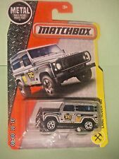 MATCHBOX METAL 2017  48/125  Land Rover 90  1:64  NIP