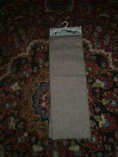 Skirt length of  Welsh Woollen Woven Fabric pink/ grey/ blue fleck W137 X L80c
