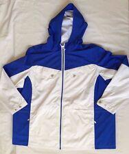 NWT Women's Polo Ralph Lauren Active Jacket Full Zip Royal Blue White - 3XL