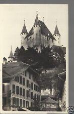 Schloss Thun Hotel zu den Metzgern  Gasthof Thoune Old Unposted Real Photograph