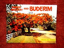 GINGER  INDUSTRY  AND  BUDERIM  QUEENSLAND COLOUR VIEW  FOLDER   [452]