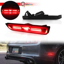 Smoke Lens Led Bumper Side Marker Lights For 2010 2014 Ford Mustang Fits Mustang