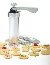 Norpro Cookie Press Icing Gun 20 Discs 4 Icing Tips Biscuits Spritz 3300