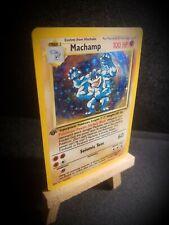 1st Edition Machamp Holo Base Set Rare pokemon card 💎Amazing💎