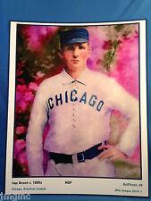 Cap Anson, Chicago, Art Photo #49 - 8 x 10 image of HOF player c. 1880's