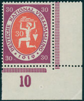 DR 1919, MiNr. 110 c I, tadellos postfrisch, gepr. Dr. Oechsner, Mi. 140,-
