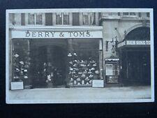 More details for london kensingtion station arcade messrs derry & toms departmant store c1912 pc