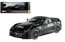 HOT WHEELS ELITE FERRARI 599 XX # 55 1/18 Black Diecast