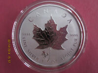 2014 1 oz .9999 Reverse Proof Silver Canadian Maple Leaf Coin - Horse Privy