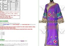 Chinese custumes Qing dynasty china clothing outfit 071707 purple or pink