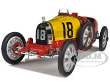 BUGATTI T 35 TYPE 35 GRAND PRIX NATIONAL COLOR PROJECT SPAIN 1/18 CMC 100 B016