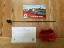 More details for tower of london paul cummins red ceramic poppy