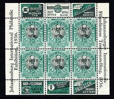 South Africa 1936 Philatelic Exhibition ½d Miniature Sheet SGMS69 LM/Mint