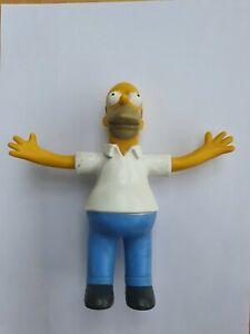 Homer Simpson Bendy Figure Jesco 1990