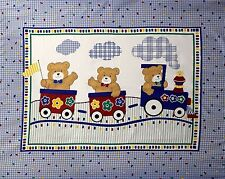 "1 ""Bear Train"" #2 Baby Panel Fabric"