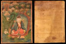 mongolian thangka nice large fairly early picture- unusual