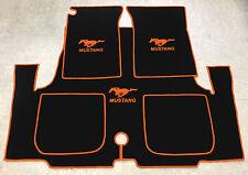 Velours schwarz Fußmatten passend für MORGAN PLUS 8 8 RL 1968-2004 2tlg