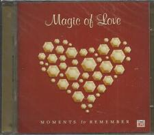 Magic of Love: Moments to Remember (CD) BRAND NEW,FREE SHIP USA