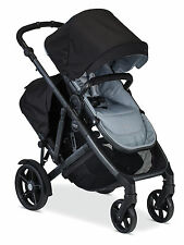 Britax 2017 B-Ready Double Stroller in Mist Brand New!! With Second Seat!!