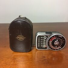 Sangamo Weston Master IV Lightmeter  Universal Exposure Meter - Cased - VGC