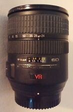 NIKON~NIKKOR~SWM VR ED~24-120MM  IF Aspherical 072~1:3.5-5.6G AF-S