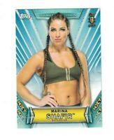Marina Shafir 2019 Topps WWE Women's Division 1ST NXT Rookie Card #43