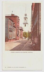 MASSACHUSETTS 826-BOSTON -Christ Church (1901)(Private Mailing Card (c1898-1907)