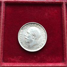 More details for charming 1916 king george v silver shilling high grade