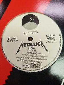 Metallica One Single Promo Elektra Vinyl LP