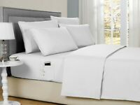 Bamboo 2000 Count 6-Piece Soft Brushed Smart Sheets Set with Storage Pocket
