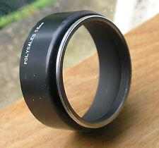 55mm Lens Hood sombra, montaje de metal frontal de plástico UK Made