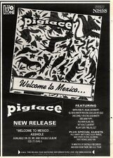 7/12/91 Pgn41 Advert: welcome To Mexico... The New Release From Pigface 7x5