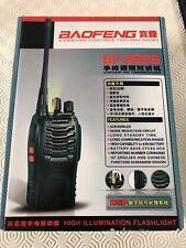 Baofeng BF-888S Walkie talkie de largo alcance y 2 vías de radio uhf