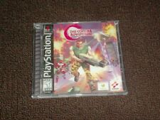C: The Contra Adventure Ps1 Empty Replacement Case + Inlays Only