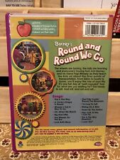 Barney - Round and Round We Go (DVD, 2002) LB