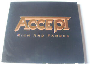 accept rich and famous cd digipack 3 titres 2002 udo dirkschneider