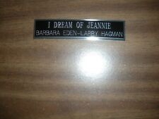 I DREAM OF JEANNIE ENGRAVED NAMEPLATE FOR PHOTO/DISPLAY/POSTER