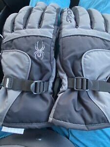 Spyder Mens Waterproof Gloves Fleece Lined L