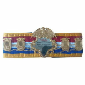 Ring Magazine Award World Heavyweight Champion Ship Belt REPLICA