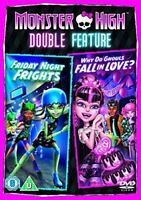 , Monster High Double Feature: Friday Night Frights / Why Do Ghouls Fall in Love