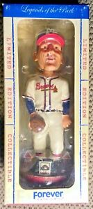 WARREN SPAHN BOBBLEHEAD FOREVER LEGENDS OF THE PARK COOPERSTOWN LIMITED EDITION