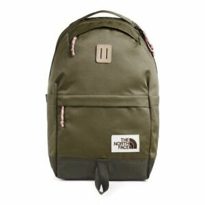 North Face Daypack 22L Pack Olive Green & Taupe Green - NEW **35% OFF**