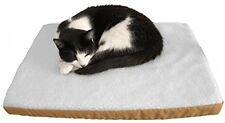 Purrvana Electric Heated Pet Bed; Thick, Fluffy Heated Pet Mat; 58x43cm Size;