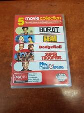 Borat Shallow Hal Dodgeball Super Troopers Me Myself & Irene DVD (P11872-32)