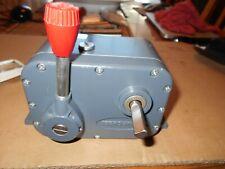 Zero Max Model EI Rotation CCW Torque 12 in Lbs  speed range  O to 400